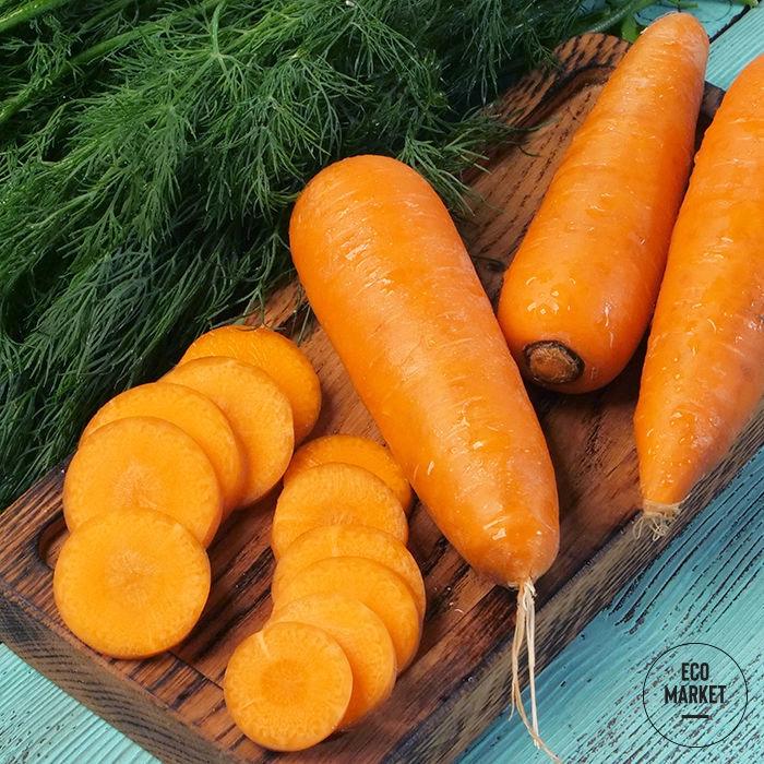 Морковь мытая ~ 500 г (0.5 кг)