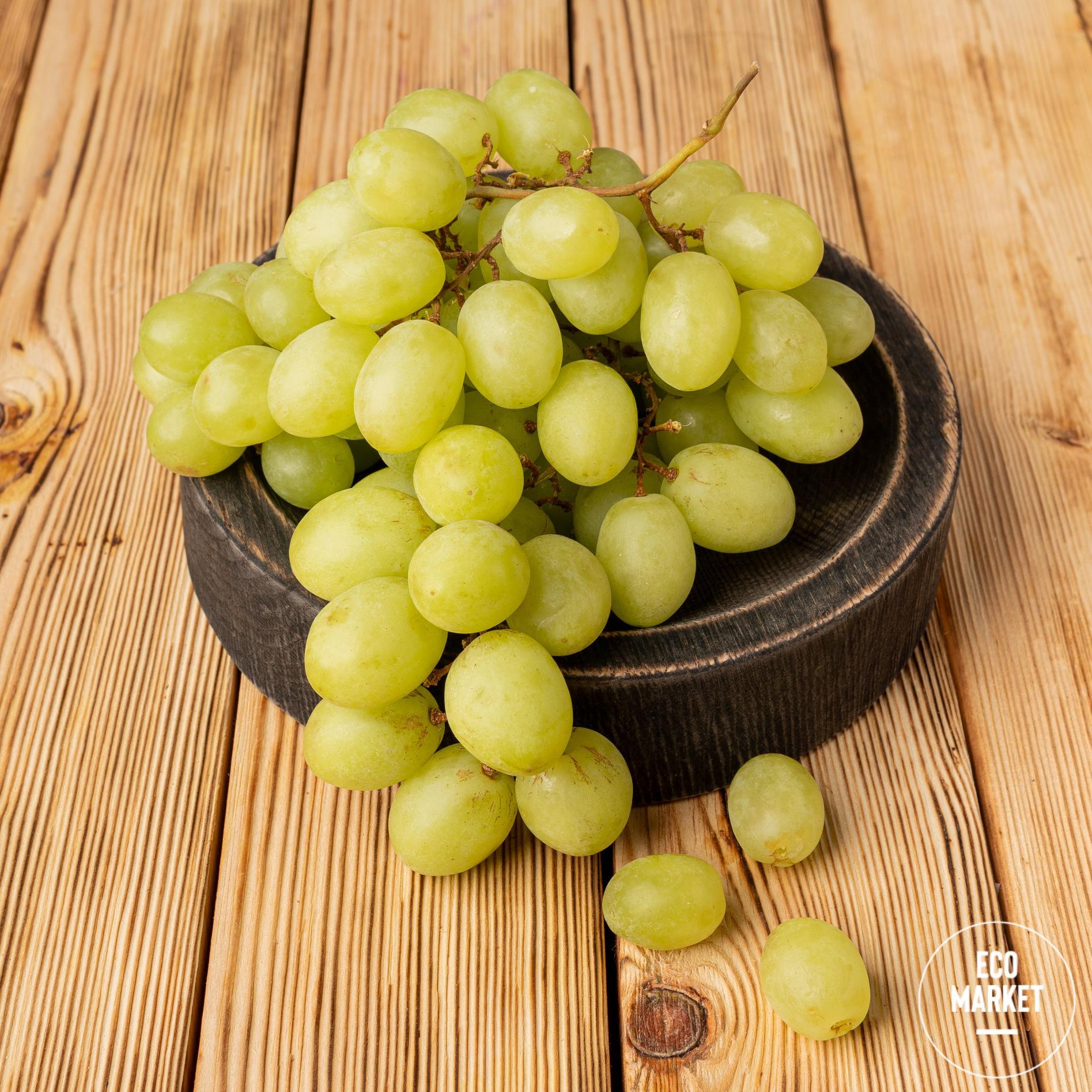 Виноград белый импортный ~ 500 г (0.5 кг)