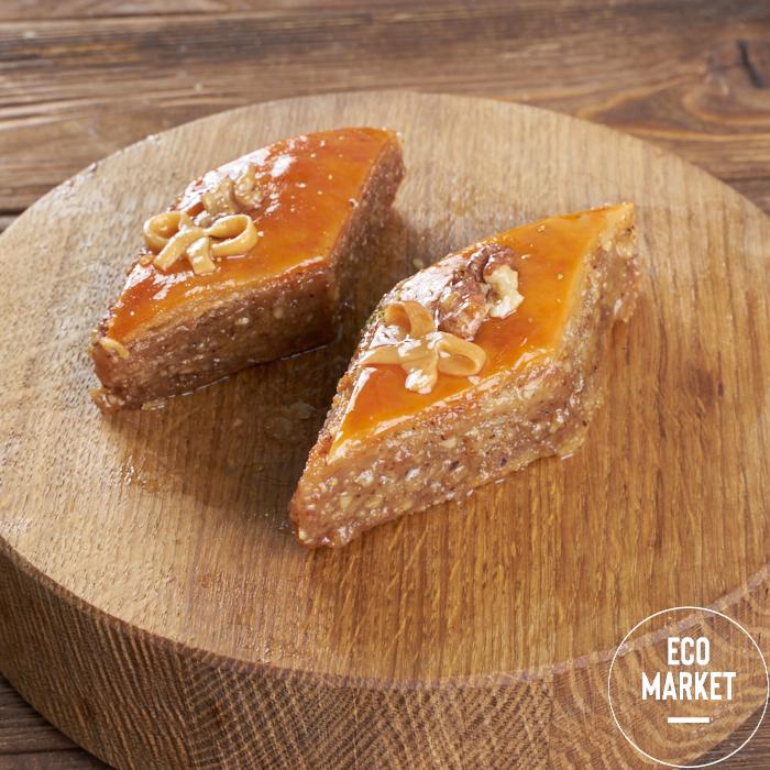 Пахлава медовая с грецким орехом - 200 г (0.2 кг)
