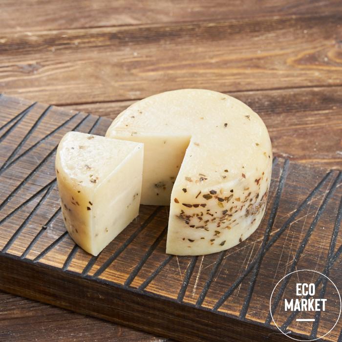 Сыр Качотта с орегано, жирность 45% ~ 250 г (0.25 кг)