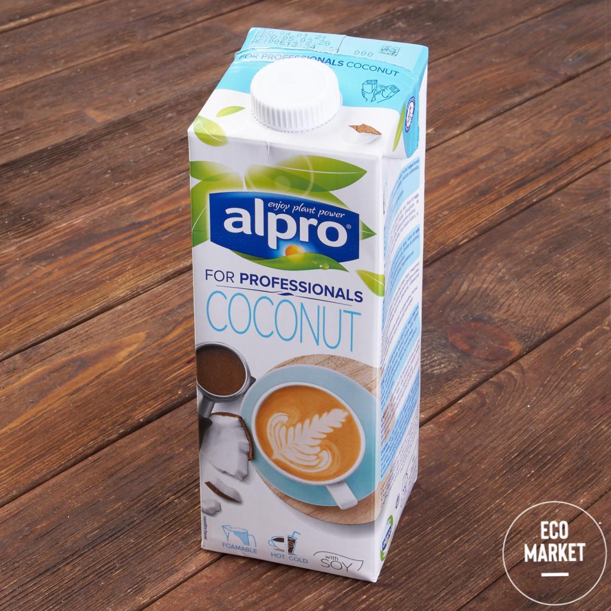Напиток кокосовый с соей Professionals Barista, ALPRO - 1 л