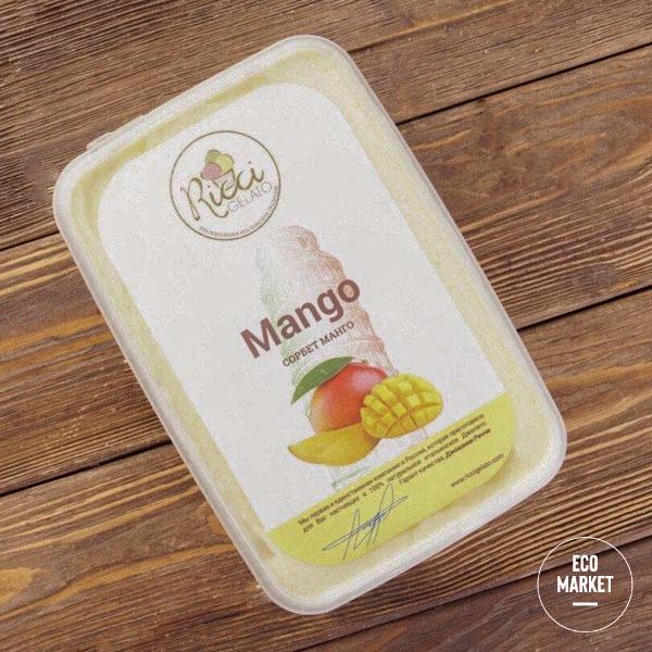 Мороженое сорбет Манго, Ricci Gelato ~ 750 г