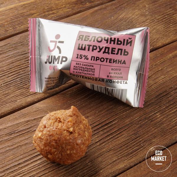 Конфета фруктовая со вкусом«Яблочный штрудель» Jump One, - 30 г