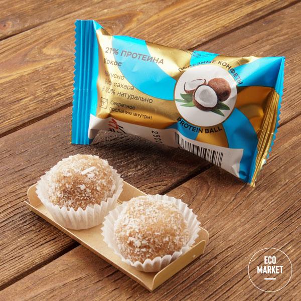 Конфеты орехово-фруктовые «Кокос», Jump Premium - 28 г