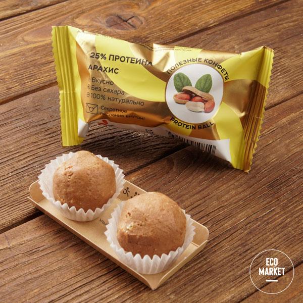 Конфеты орехово-фруктовые «Арахис», Jump premium - 28 г