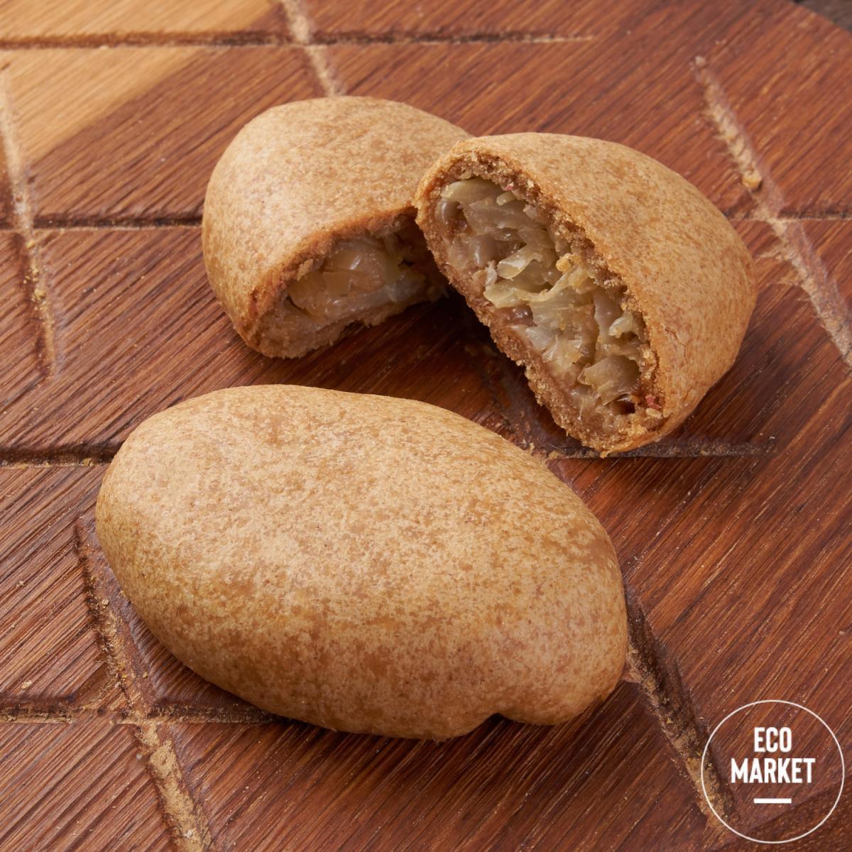 Пирожок ржаной с капустой 2 шт Ecomarket.ru - 140 г