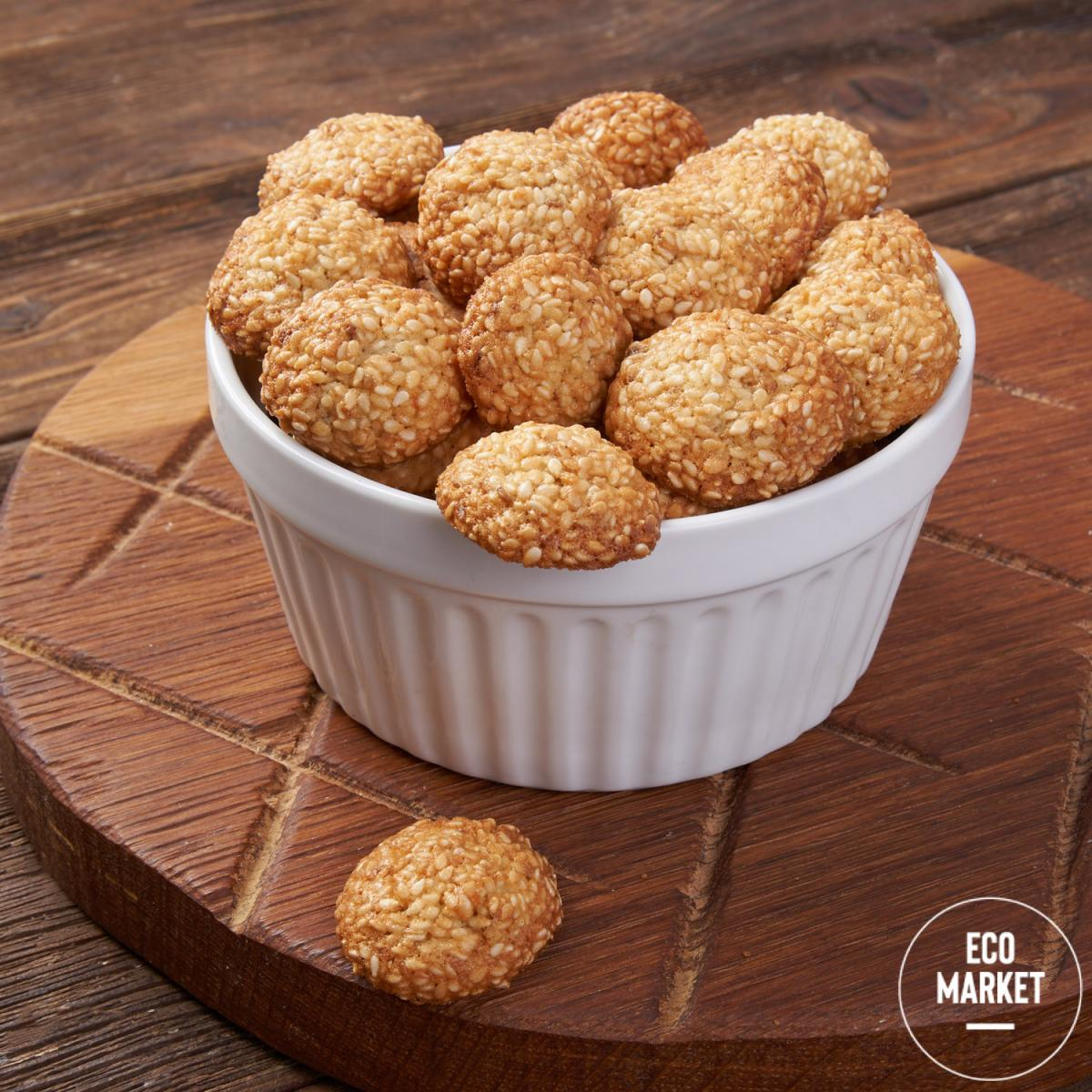 Печенье кунжутное Ecomarket.ru - 100 г