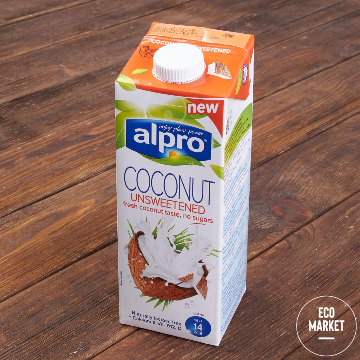 Напиток кокосовый без сахара, ALPRO - 1 л