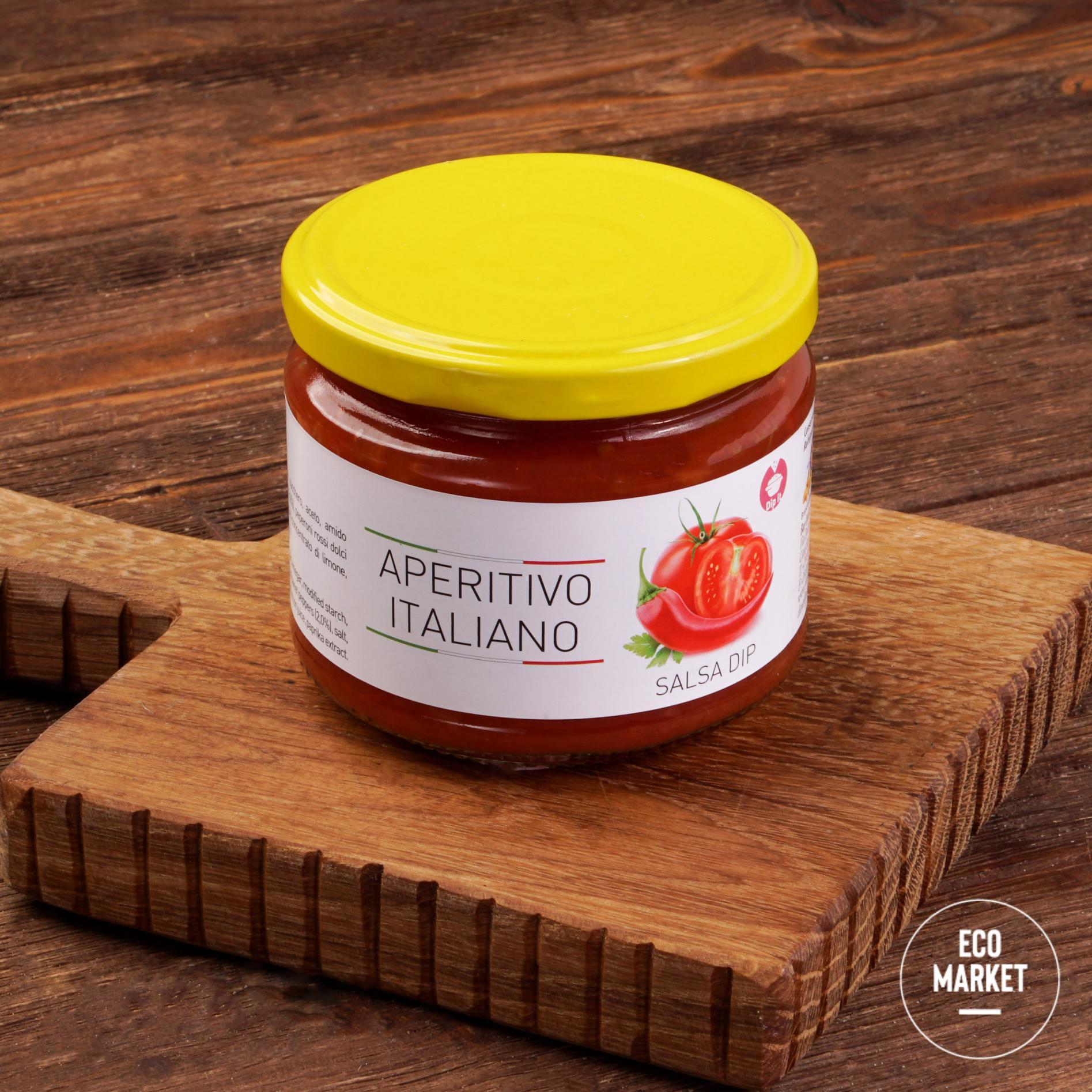 Дип-соус томатный с луком и перцем, Aperitivo Italiano - 315 г