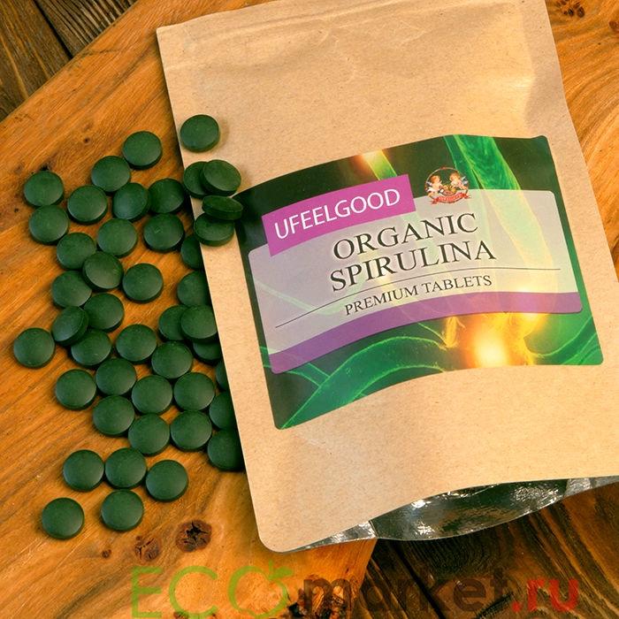 Спирулина в таблетках ORGANIC - 100 г