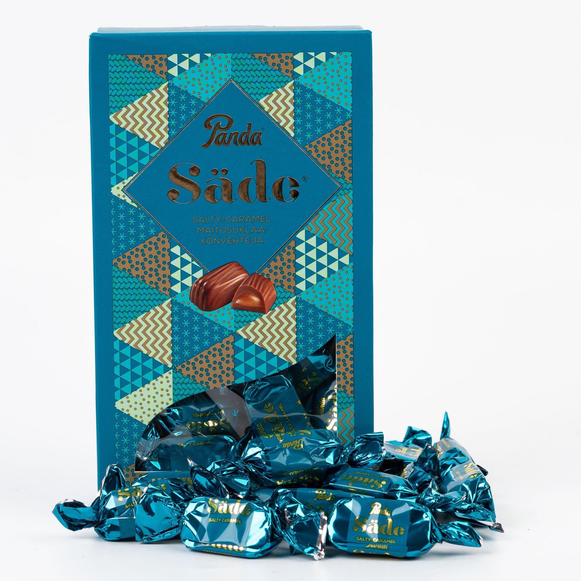 Конфеты из молочного шоколада с солёной карамелью Sade - 280 г (1 шт)