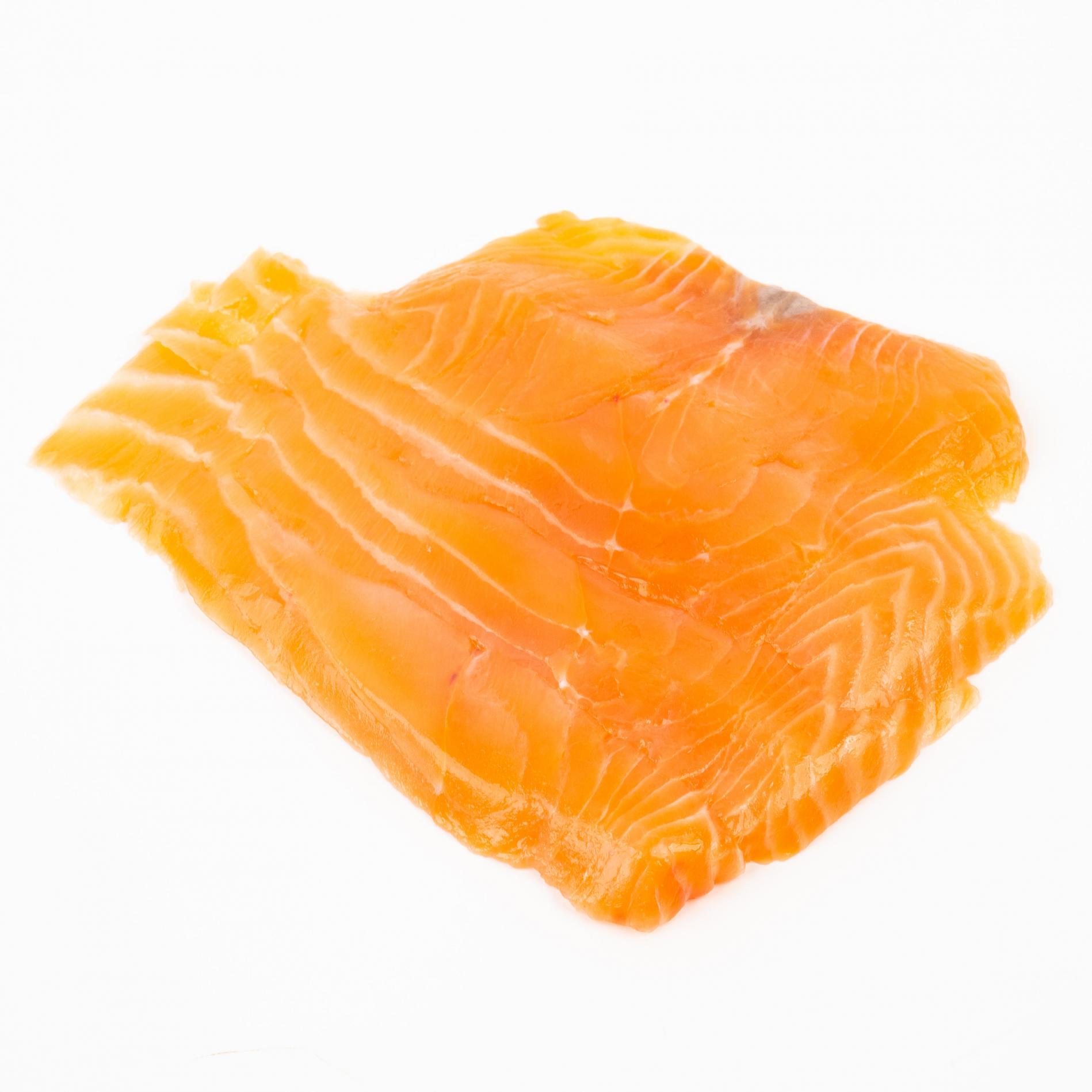 Филе атлантического лосося премиум, слайсы с/c охл. - 200 г