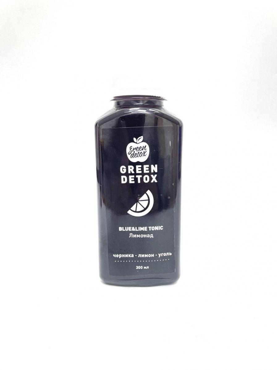 Лимонад Blue&lime Toniс, Green Detox - 300 мл (1 шт)